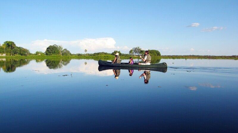 Bootsausflug im Pantanal © Diamir