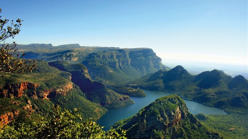 Blick in den Blyde River Canyon  © Diamir