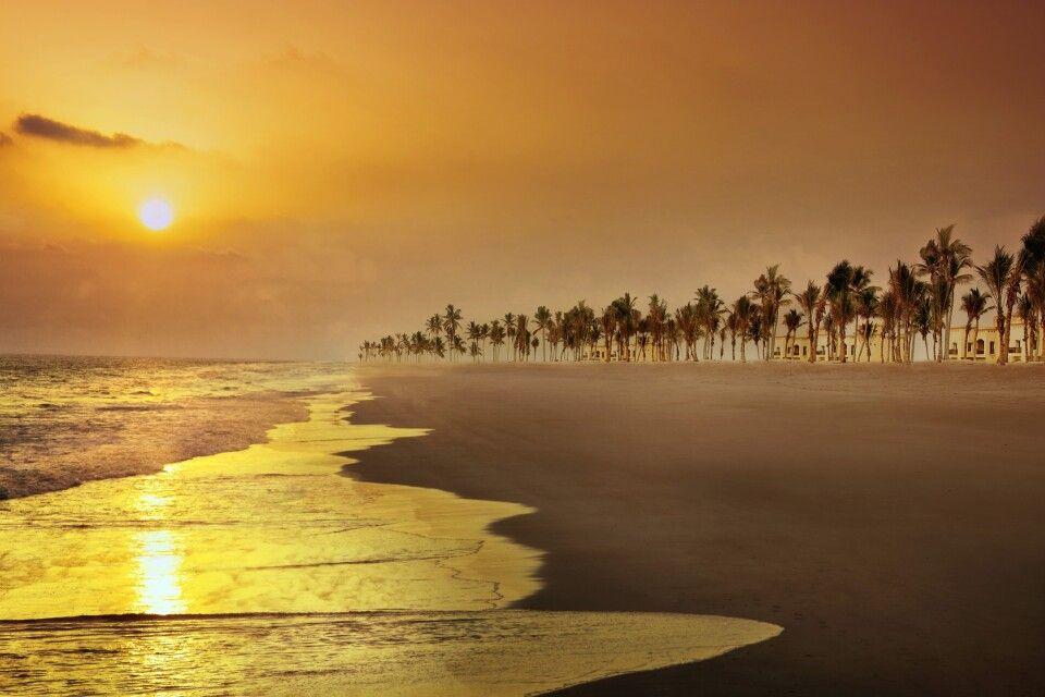 Oman, Salalah, Salalah Rotana Resort, Strand
