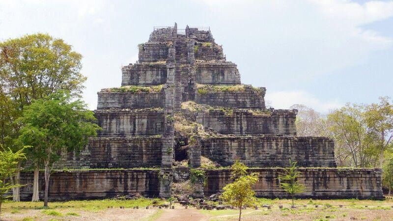 Koh Ker – ehemals bedeutende Stadt des Khmer-Reiches © Diamir