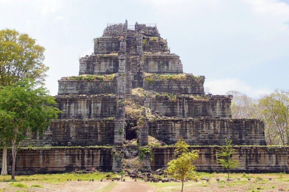 Koh Ker – ehemals bedeutende Stadt des Khmer-Reiches