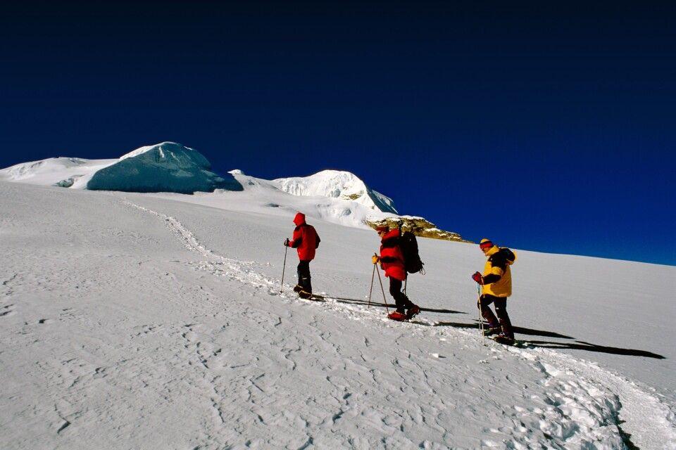 Aufstieg zum Mera La Pass