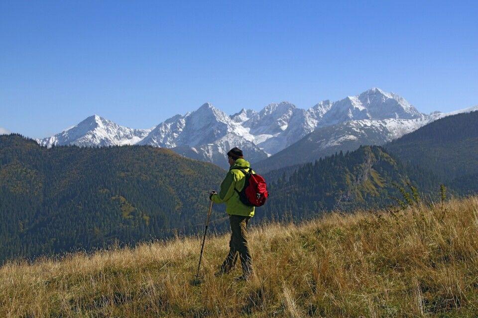 Ausblick auf die Weiße Tatra
