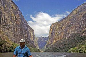 Bootsfahrt Sumidero-Canyon