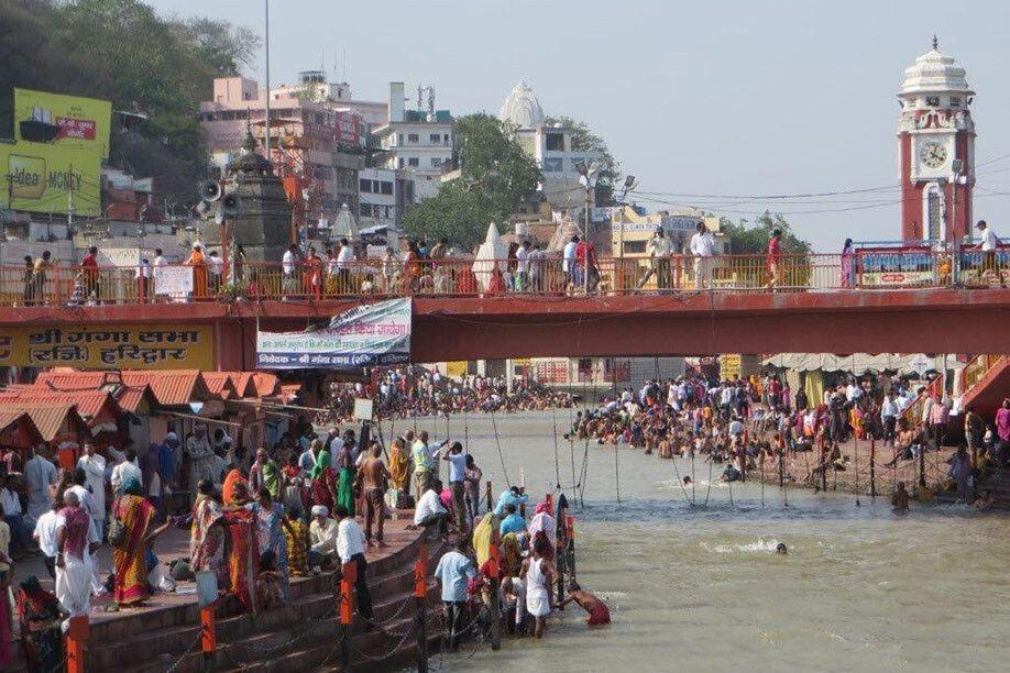 Die Ghats von Haridwar