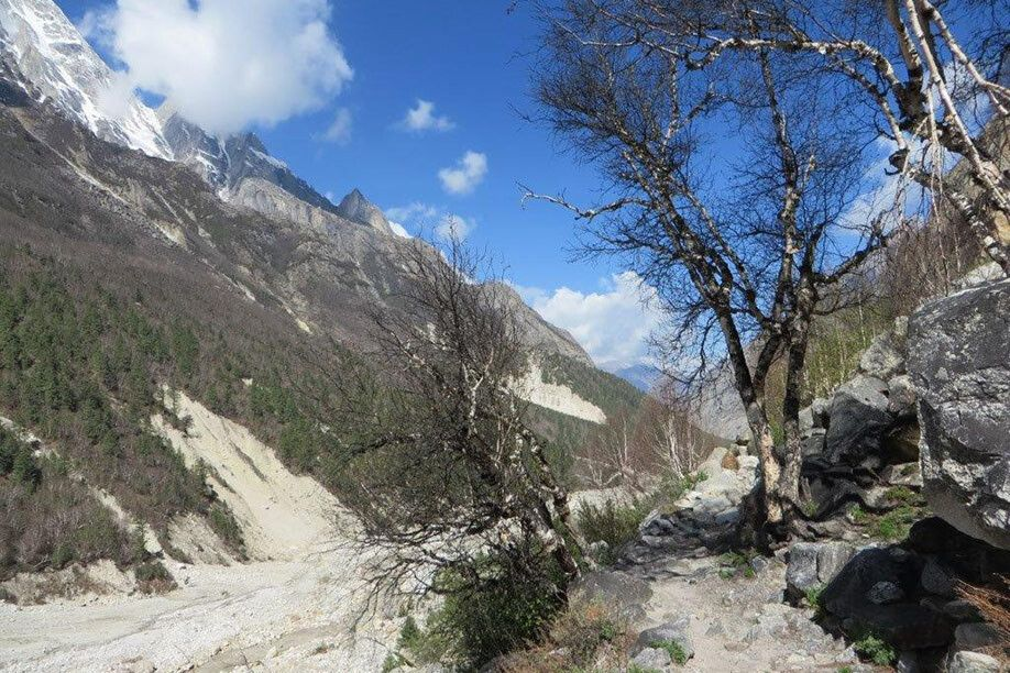 Abstieg nach Gangotri