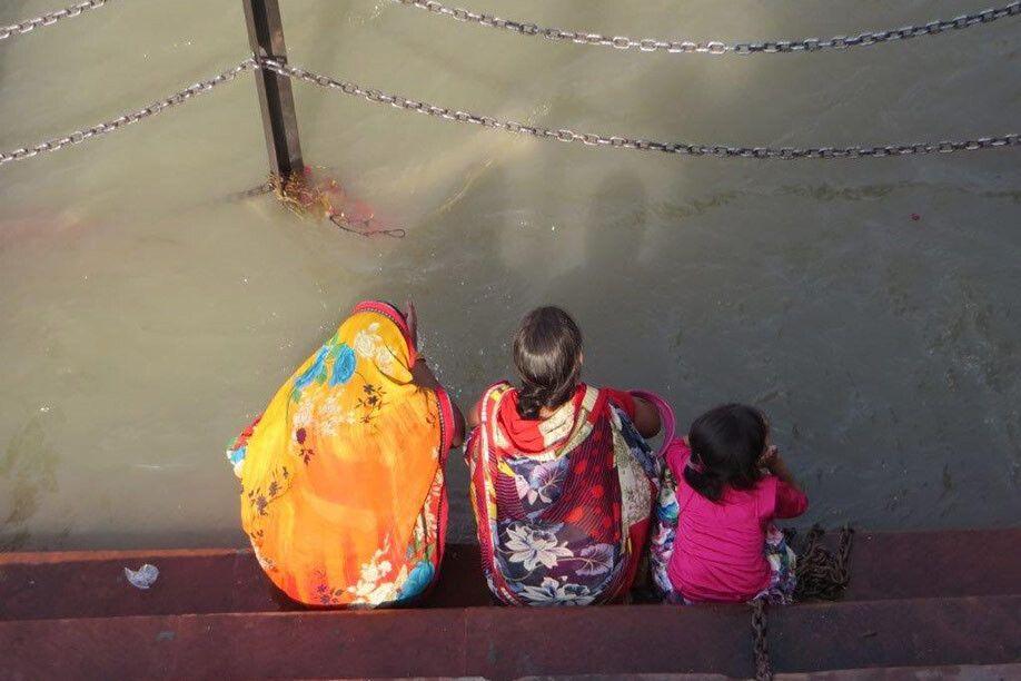 Gebete am Ganges