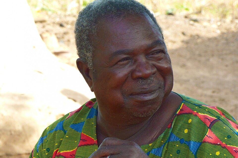 Burkina Faso, Lobi, Dorf, Portrait