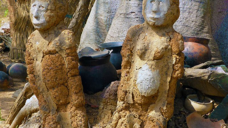 Burkina Faso, Feticheur in Kouekouera © Diamir