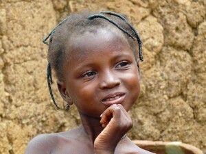 Mädchen in Burkina Faso