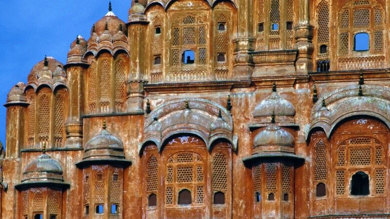 Palast der Winde in Jaipur © Diamir