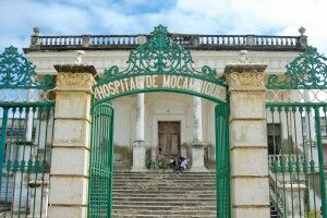 Krankenhaus aus der Kolonialzeit, Ilha de Moçambique