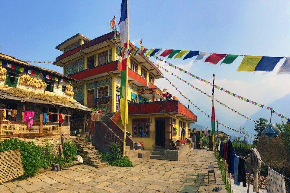 Kloster in Ghandruk