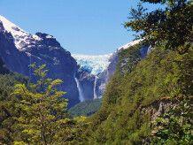 Hängender Gletscher im Nationalpark Queulat