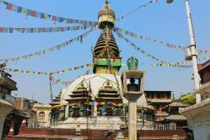 Stupa in Thamel