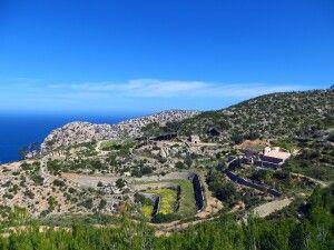 Die Klosterruine La Trapa