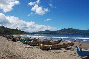 Küste des Meru Betiri Nationalpark