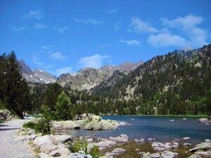 Naturlandschaft in den Pyrenäen