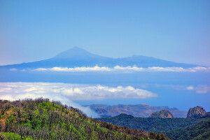 Atemberaubende Aussicht vom Garajonay Nationalpark