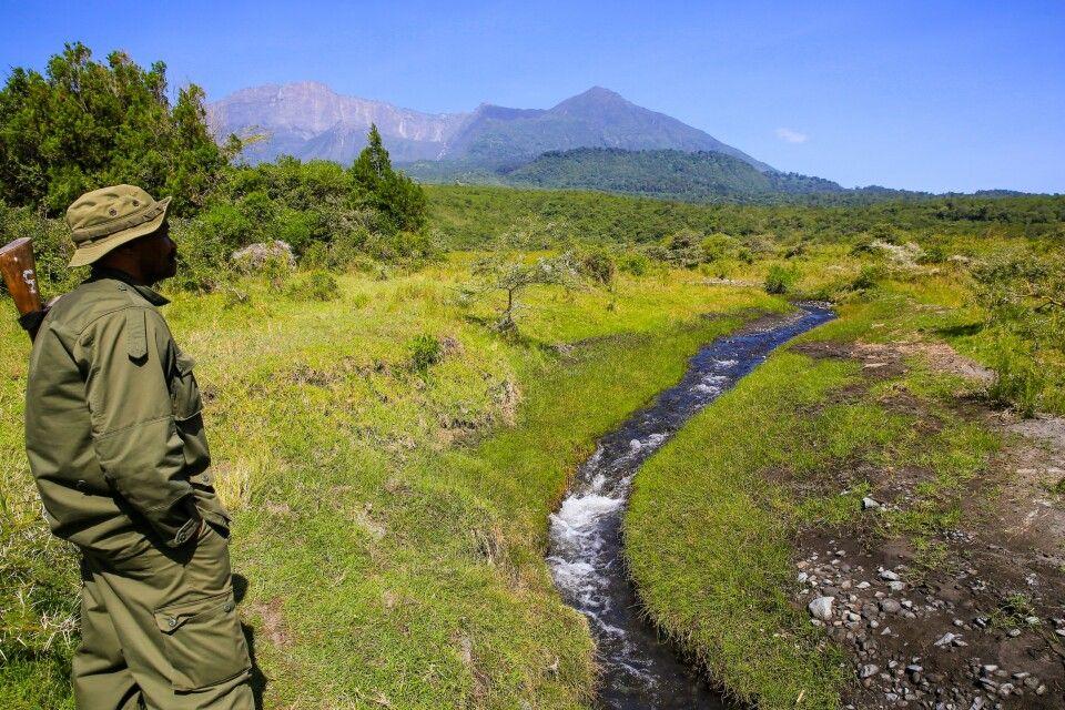 Unterwegs im Arusha National Park