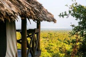 Aussicht vom Maweninga Camp