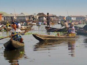 Bootsfahrt nach Ganvie, Fluss