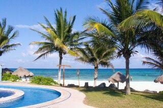Mahekal Beach Resort (ehe. Shangri-La Caribe) Pool