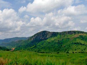 Togo, Weg nach Kande, Umgebung