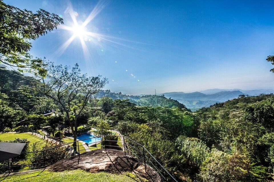 Blick vom The Melheim Resort