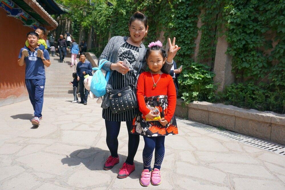 freundliche Chinesen in Xian
