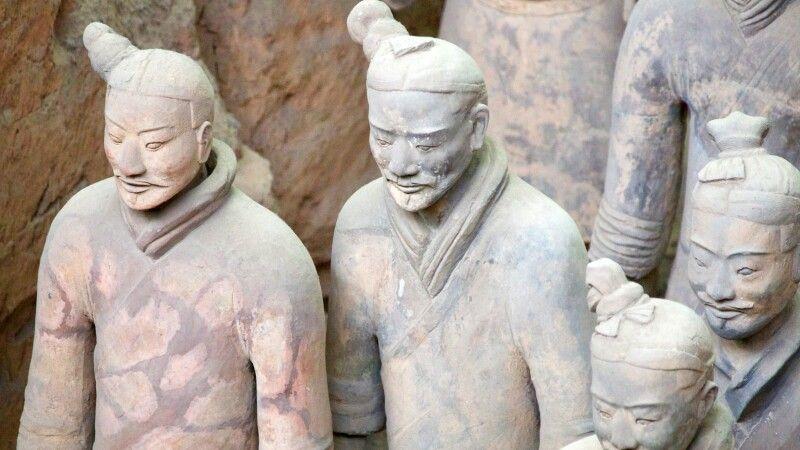 Terrakotta-Armee bei Xian © Diamir