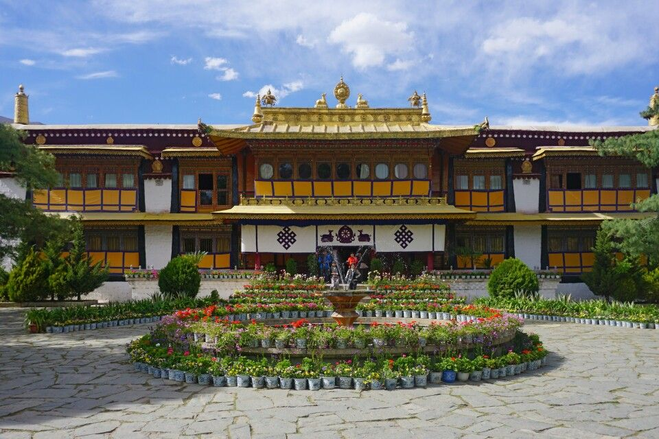 Sommerpalast Norbulingka in Lhasa
