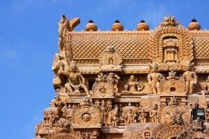 Brihadeshvara-Tempel in Thanjavur (Tanjore)