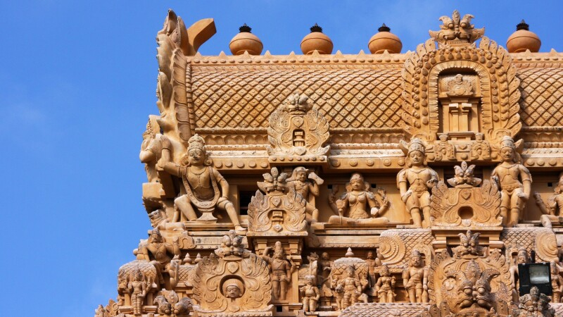 Brihadeshvara-Tempel in Tanjore © Diamir