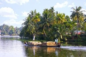 Backwaters bei Alleppey