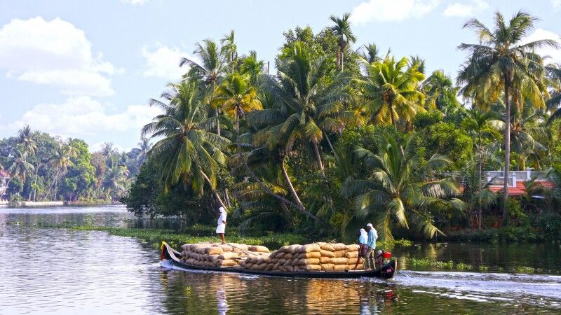 Backwaters bei Alleppey © Diamir