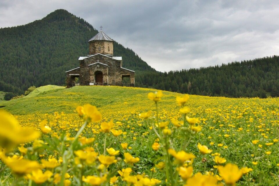 Kirche in Shenako