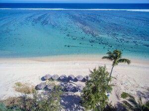 Strand im Le Nautile beach Hotel