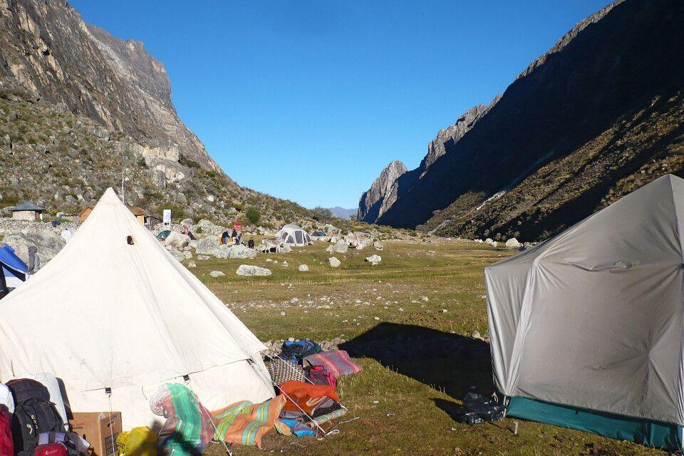 Santa Cruz Trek Camp Llamacorral