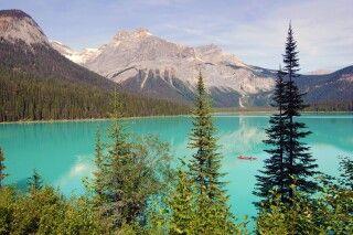 Der Emerald Lake im Yoho NP