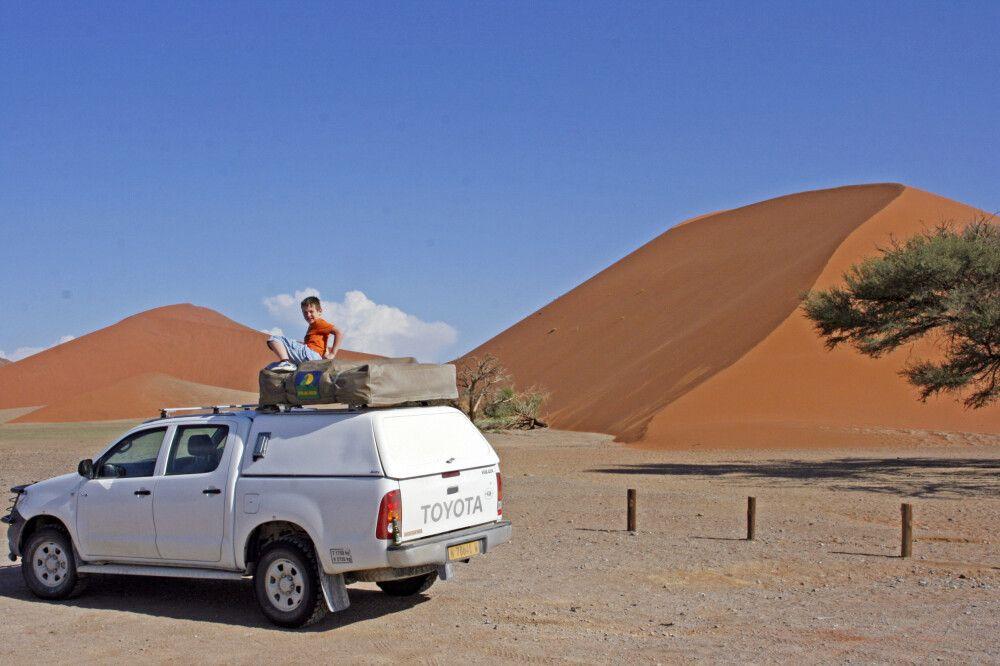 Familienreisen in Namibia