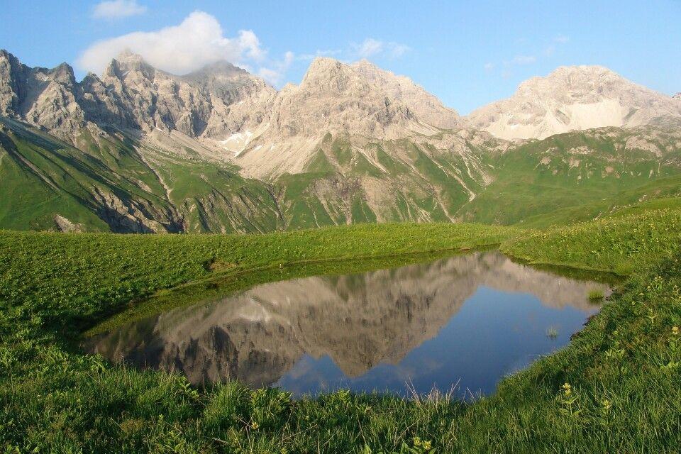 Bergseen laden zu gemütlichen Rasten ein.