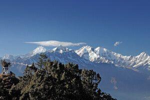 Aufstieg nach Laurebina Yak (3950m)