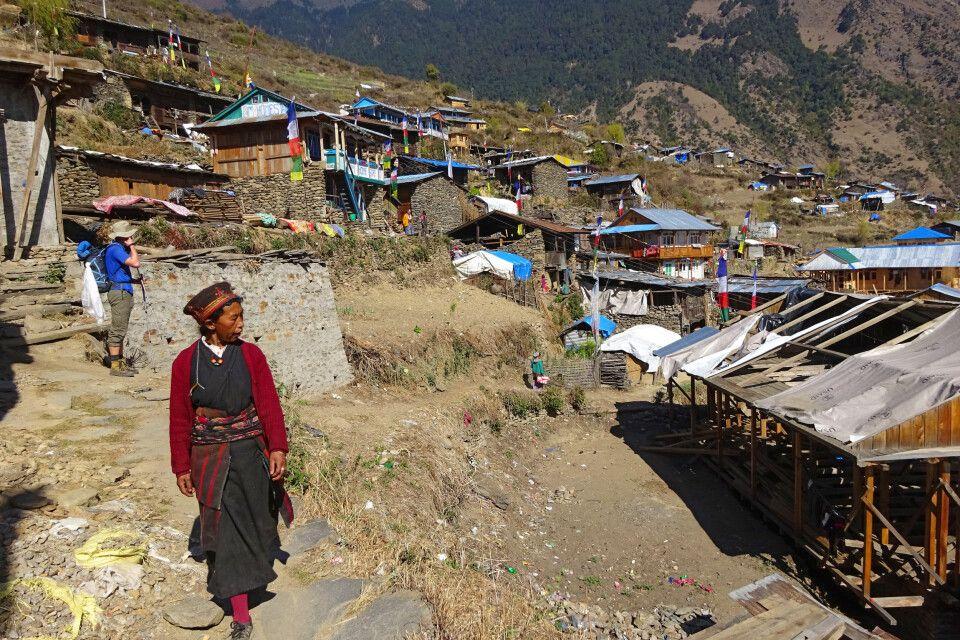 Dorfleben von Thuman