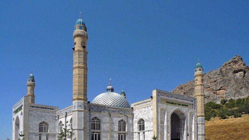 Der Salomonsthron oberhalb von Osch gehört zum Weltkulturerbe der UNESCO. © Diamir