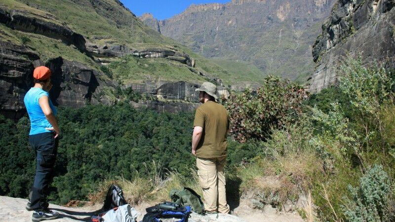 Wandern in den Drakensbergen © Diamir