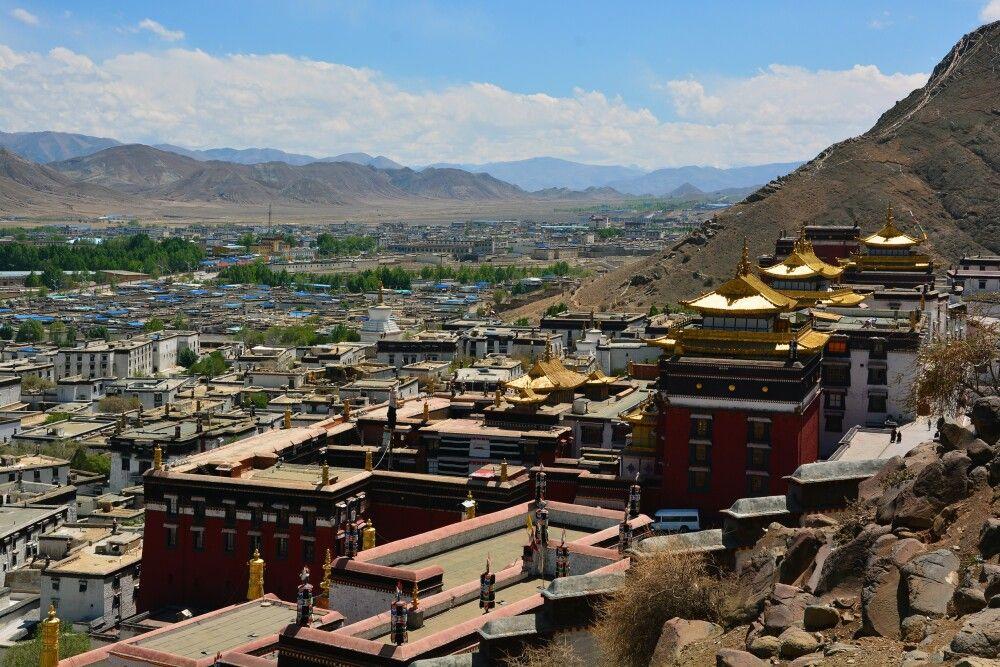 Kloster Tashilhunpo in Shigatse