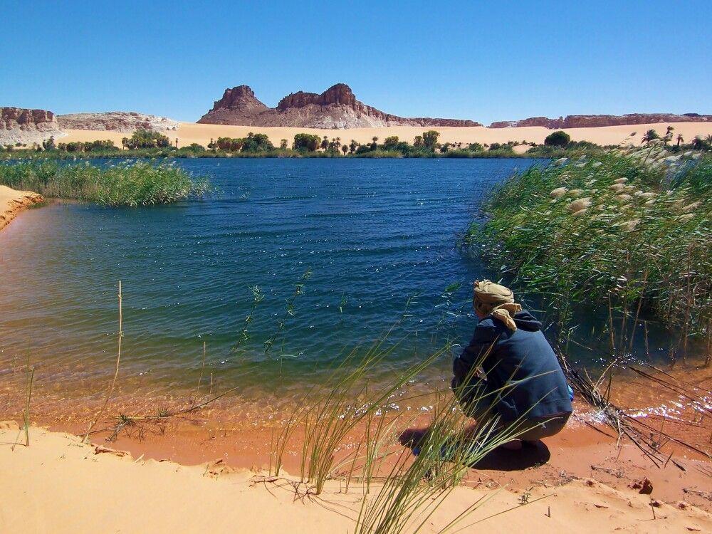 Wüstenoasen im Tschad