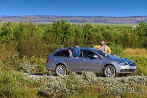 Mit dem Mietwagen in Island