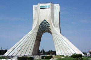 Azadi-Freiheitsturm in Teheran